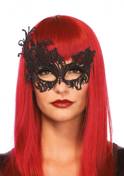 FANTASY VENETIAN EYE MASK BLACK