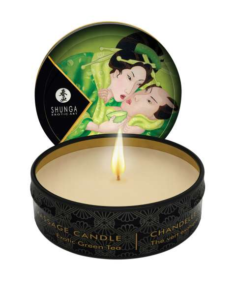SHUNGA Massage Candle Zénitude/Green Tea 30ml, 6 pcs